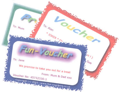 FunVouchers – Sample Vouchers